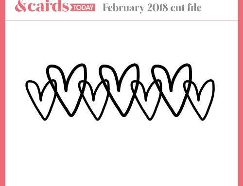 February Free Cut File with Nicole Nowosad!