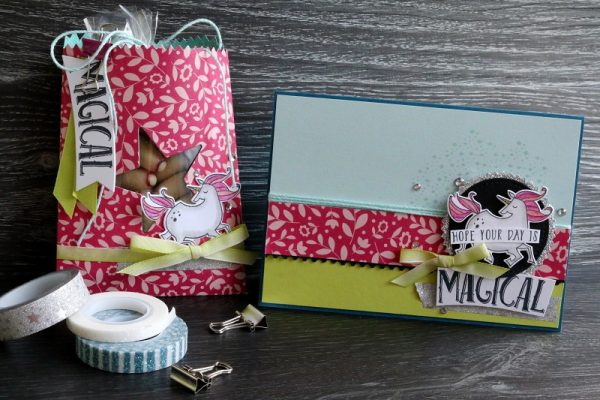 Gift set by Kayla MacAulay for Scrapbook& Cards Today