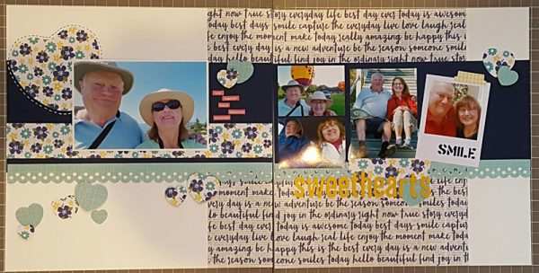 Layout by Joan Allard