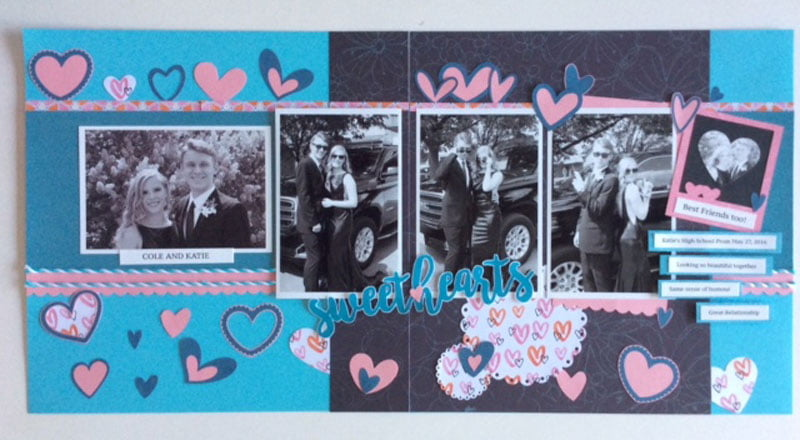 Layout by Julie Ogilvie