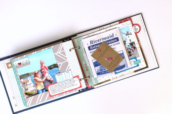 Mini Album by Meghann Andrew for Scrapbook & Cards Today Magazine