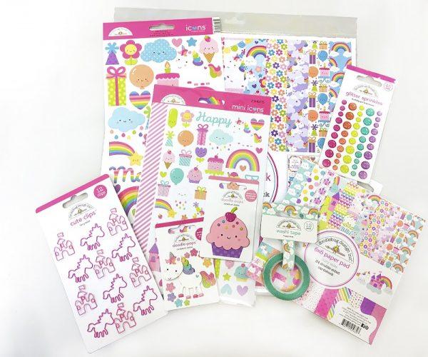 Doodlebug - Scrapbook & Cards 12th birthday prize