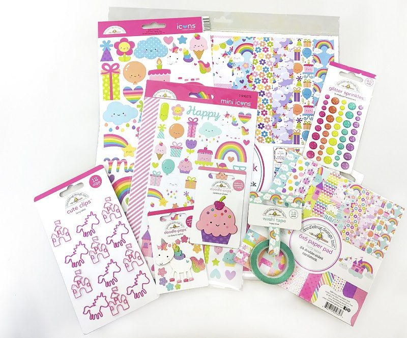 Doodlebug_Scrapbook & Cards 12th birthday prize
