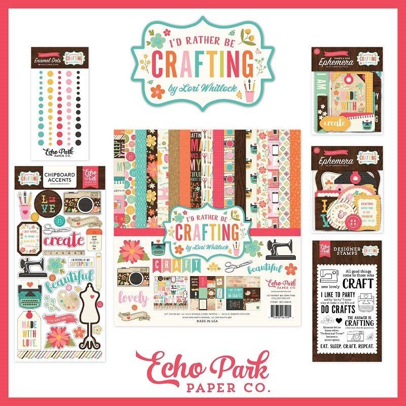 Echo Park giveaway for Scrapbook & Cards Today magazine
