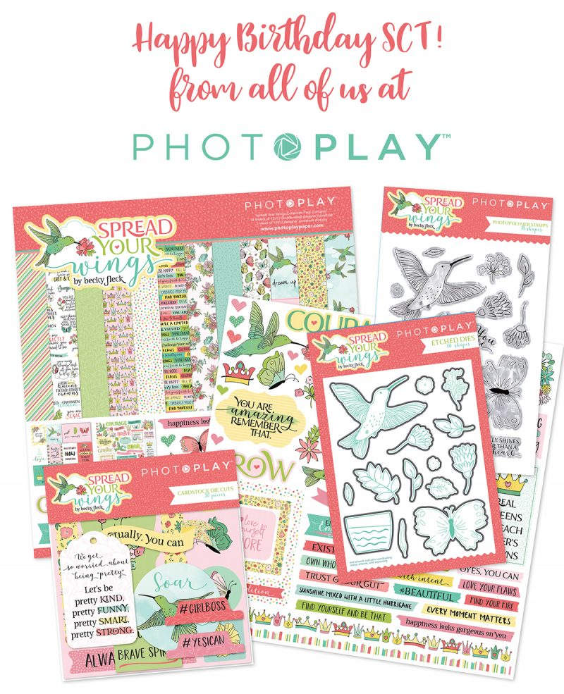 Photoplay Paper for Scrapbook & Cards Today magazine