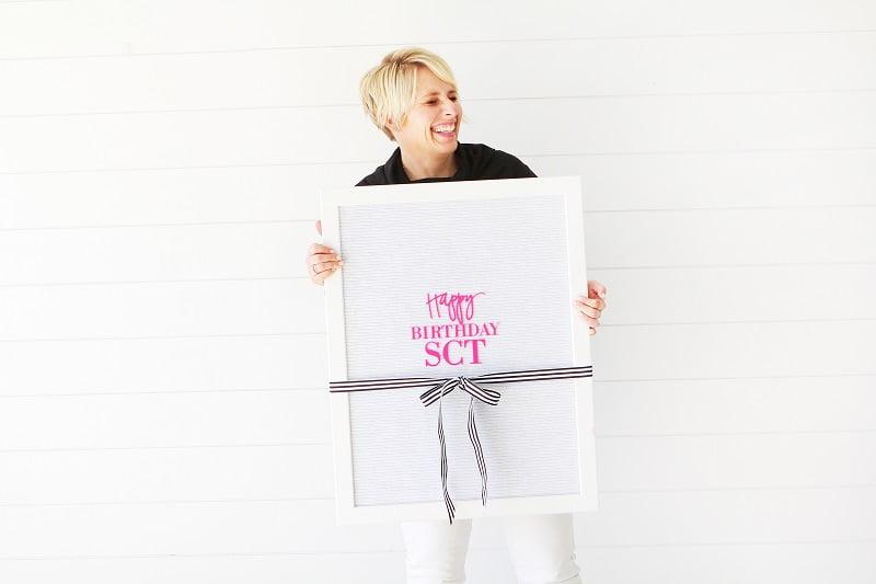 Heidi Swapp Letterboard Giveaway SCT magazine