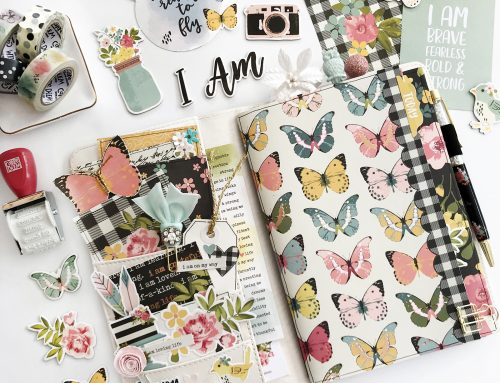 A look at Layle Koncar's spring-themed Travelers Notebook!