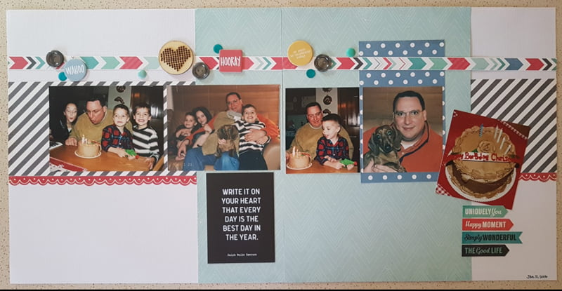 Layout by Lori Scholz