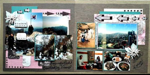 March Layout by Ava Gavloski