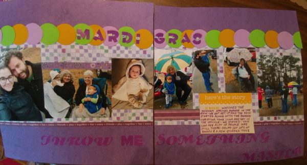 March Layout by Eva Walker