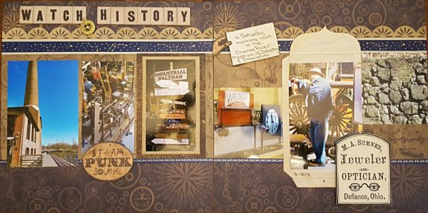 March Layout by Joan Allard