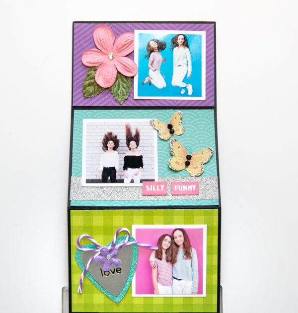 My Girls Mini by Stacy Cohen for Scrapbook & Cards Today 3