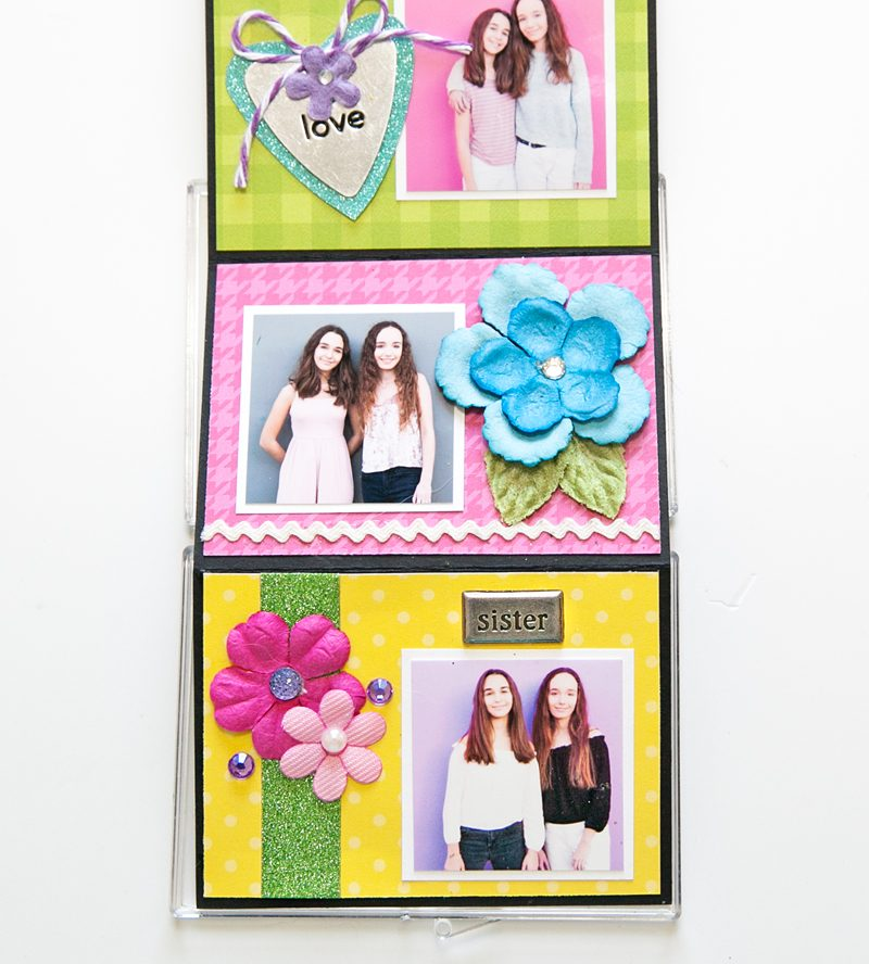 My Girls Mini by Stacy Cohen for Scrapbook & Cards Today 4