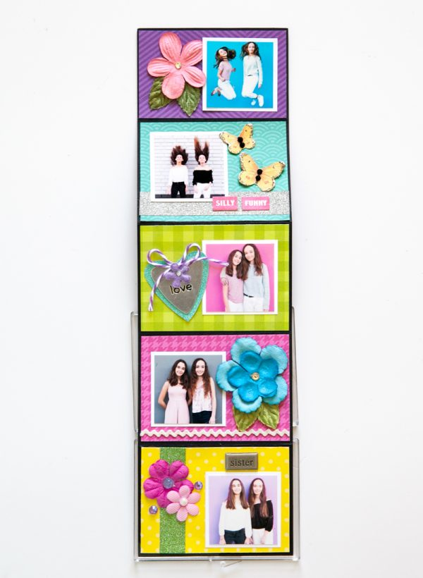 My Girls Mini by Stacy Cohen for Scrapbook & Cards Today 5