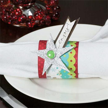 Holiday Napkin Ring by Vicki Boutin