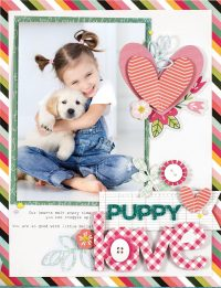 Puppy Love by Nicole Nowosad - Scrapbook & Cards Today Spring 2018