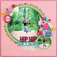 Hip Hip Hooray by Stacy Cohen - Scrapbook & Cards Today Spring 2018