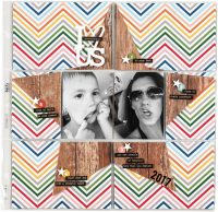 Heart Us by Candace Perkins - Scrapbook & Cards Today Spring 2018