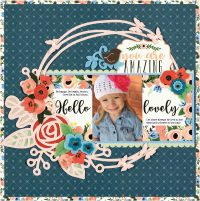 You Are Amazing by Virginia Nebel - Scrapbook & Cards Today Spring 2018