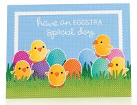 Eggstra Special Day card by Mendi Yoshikawa - Scrapbook & Cards Today Spring 2018