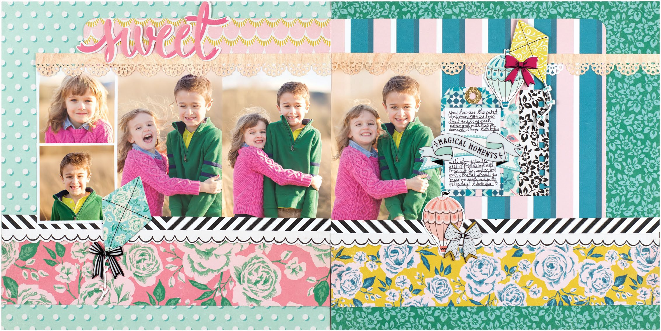 Magical Moments by Paige Evans - Scrapbook & Cards Today Spring 2018