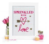Sprinkled With Love by Jennifer Evans - Scrapbook & Cards Today Spring 2018