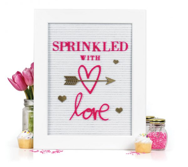 Sprinkled With Love by Jennifer Evans - Scrapbook & Cards Today Spring 2018