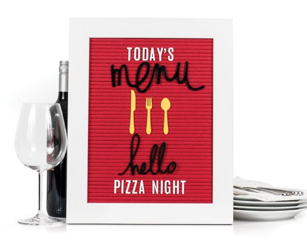 Pizza Night by Lindsay Bateman - Scrapbook & Cards Today Spring 2018