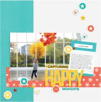 Capturing Happy Moments by Meghann Andrew - Scrapbook & Cards Today Spring 2018
