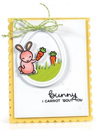 I Carrot 'Bout You card by Latisha Yoast - Scrapbook & Cards Today Spring 2018