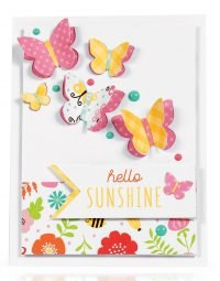Hello Sunshine card by Latisha Yoast - Scrapbook & Cards Today Spring 2018
