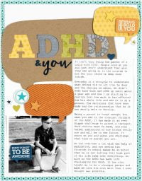 ADHA and You by Nicole Nowosad - Scrapbook & Cards Today Spring 2018