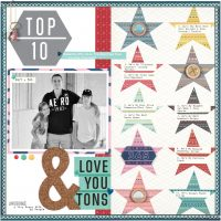 Top 10 by Sheri Reguly - Scrapbook & Cards Today Spring 2018