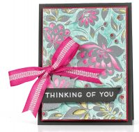 Thinking of You card by Latisha Yoast - Scrapbook & Cards Today Spring 2018