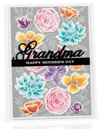 Grandma card by Laurie Schmidlin - Scrapbook & Cards Today Spring 2018