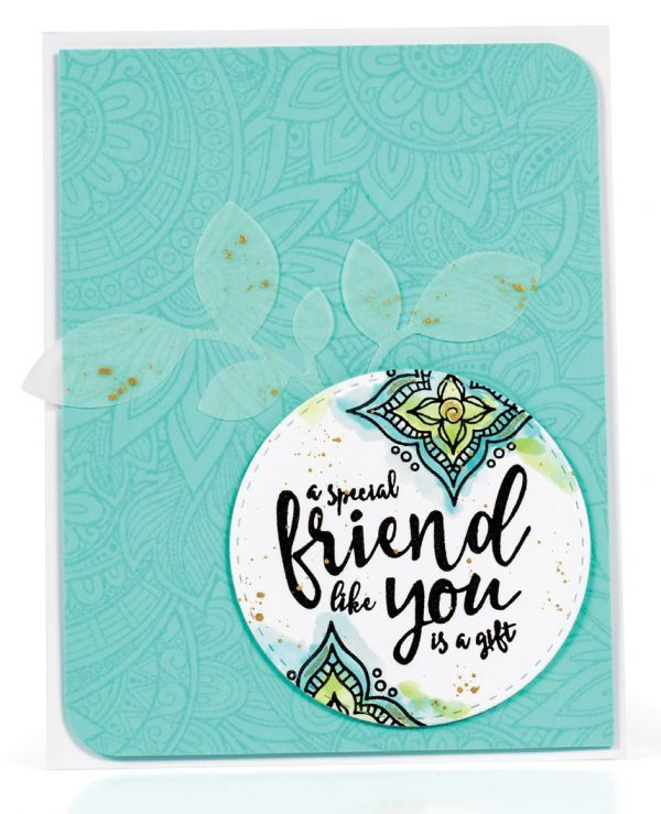 A Special Friend card by Wanda Guess - Scrapbook & Cards Today Spring 2018