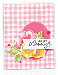 Love You Always card by Yana Smakula - Scrapbook & Cards Today Spring 2018