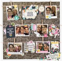 Create Beauty by Jennifer Haggerty - Scrapbook & Cards Today Spring 2018