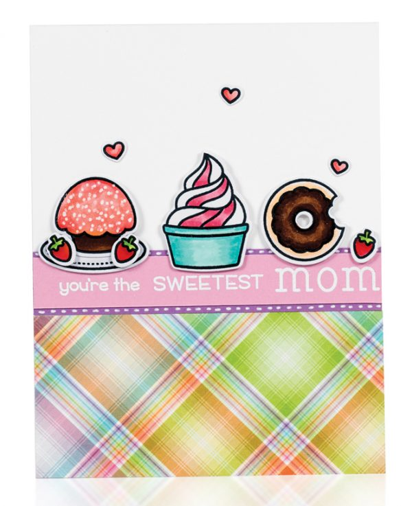 Sweetest Mom card by Dana Joy - Scrapbook & Cards Today Spring 2018