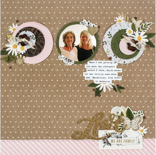 We Are Family by Laura Whitaker - Scrapbook & Cards Today Spring 2018