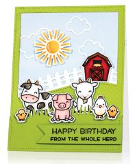 The Whole Herd by Audrey Tokach - Scrapbook & Cards Today Spring 2018