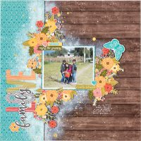 Family Love by Nathalie Desousa - Scrapbook & Cards Today Spring 2018