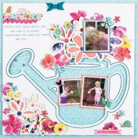 Little Moments by Majken Pullin - Scrapbook & Cards Today Spring 2018