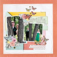 Smile by Tammy Hawes - Scrapbook & Cards Today Spring 2018