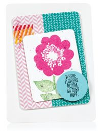 Where Flowers Bloom card by Tenia Nelson - Scrapbook & Cards Today Spring 2018