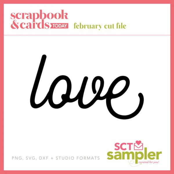 SCT Sampler - February 2018 Cut File