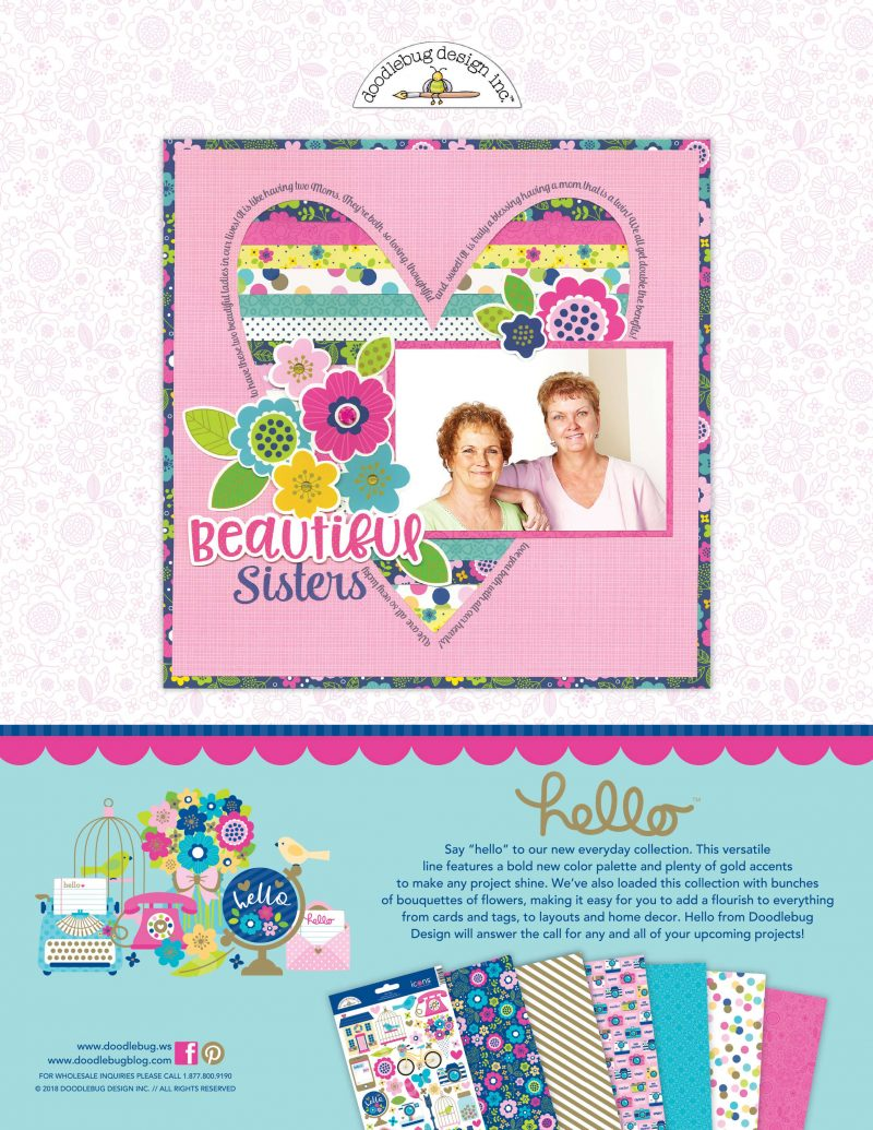 Doodlebug Design Advertisement - Scrapbook & Cards Today Spring 2018