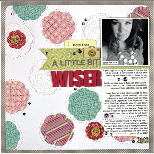 A Little Bit Wiser by Nicole Nowosad