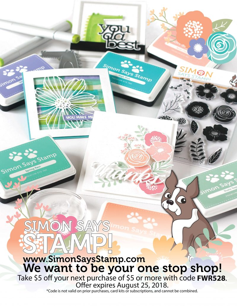 Simon Says Stamp Advertisement - Scrapbook & Cards Today Spring 2018