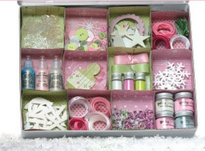 Sparkle tin by Christine Hill